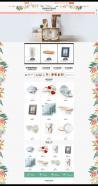 收纳杯子碗筷居家日用生活品类网店淘宝装修模板